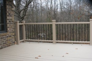 Trex Transcend Rope Swing / Gravel Path Railing Examples