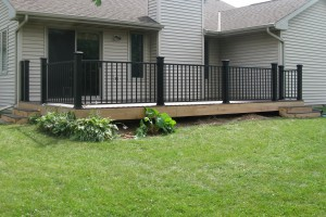 Ground Level Deck Examples
